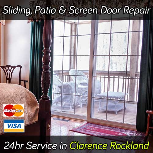 Sliding Patio Door Repair Services Clarence Rockland